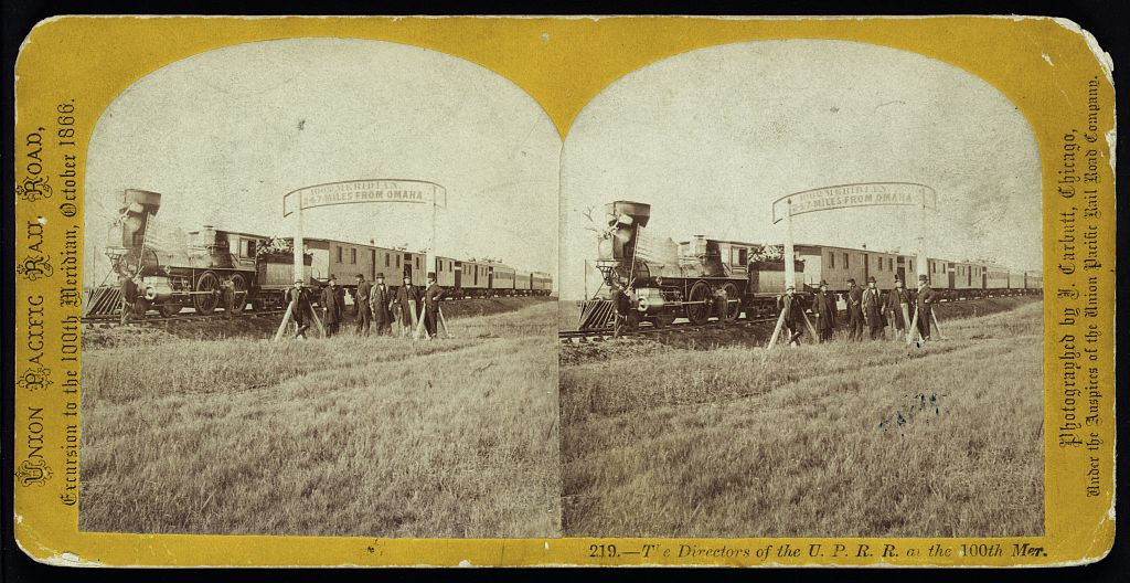 John Carbutt was the official photographer for the Union Pacific Rail Company as it rushed to complete the transcontinental railroad. (John Carbutt, Library of Congress)
