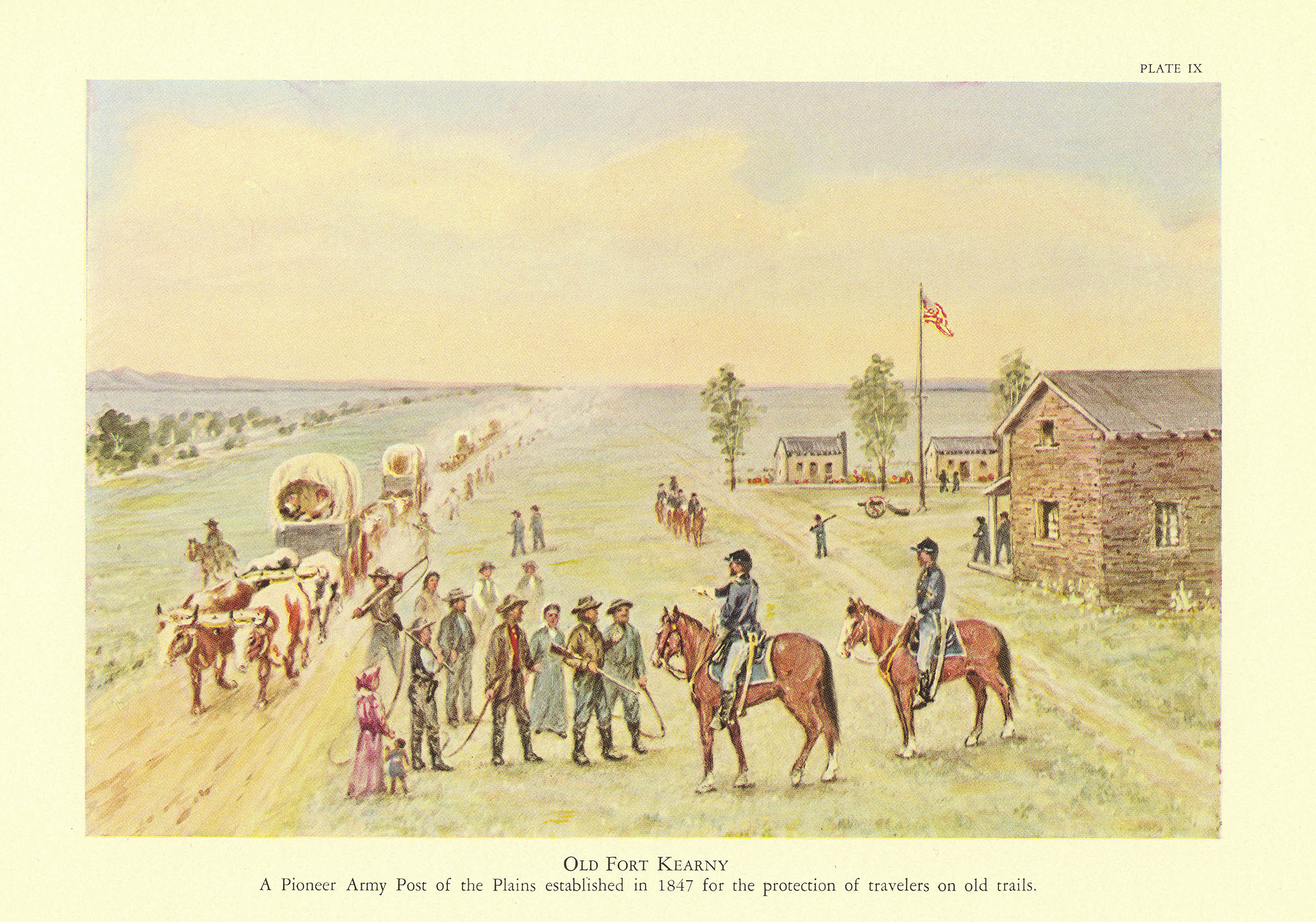 Fort Kearny (Brigham Young University Harold B. Lee Library)