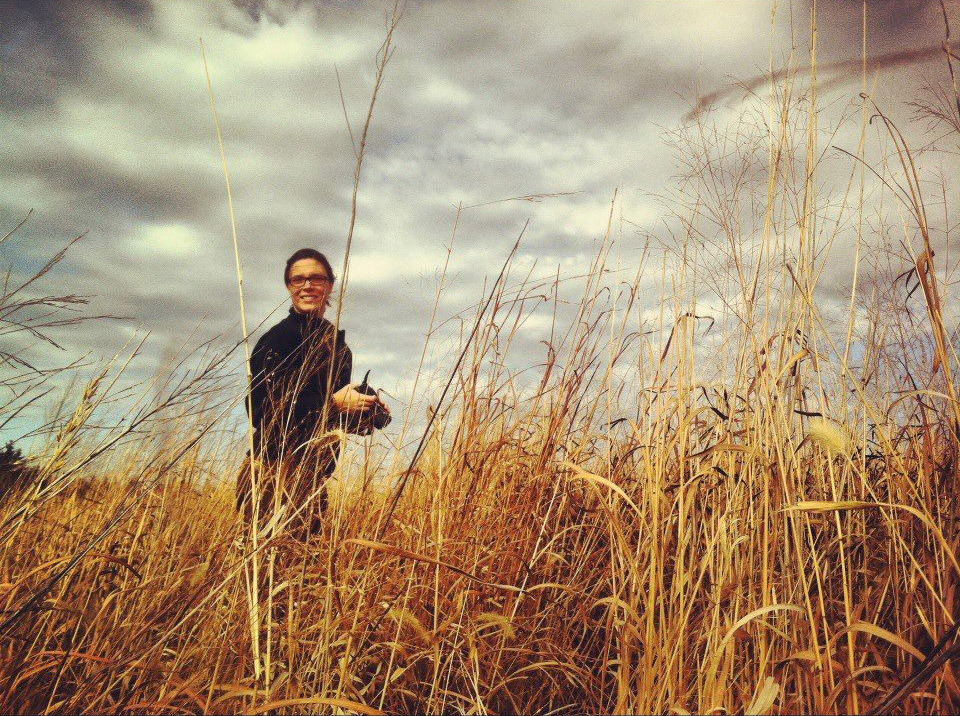 My first prairie experience in Nebraska.