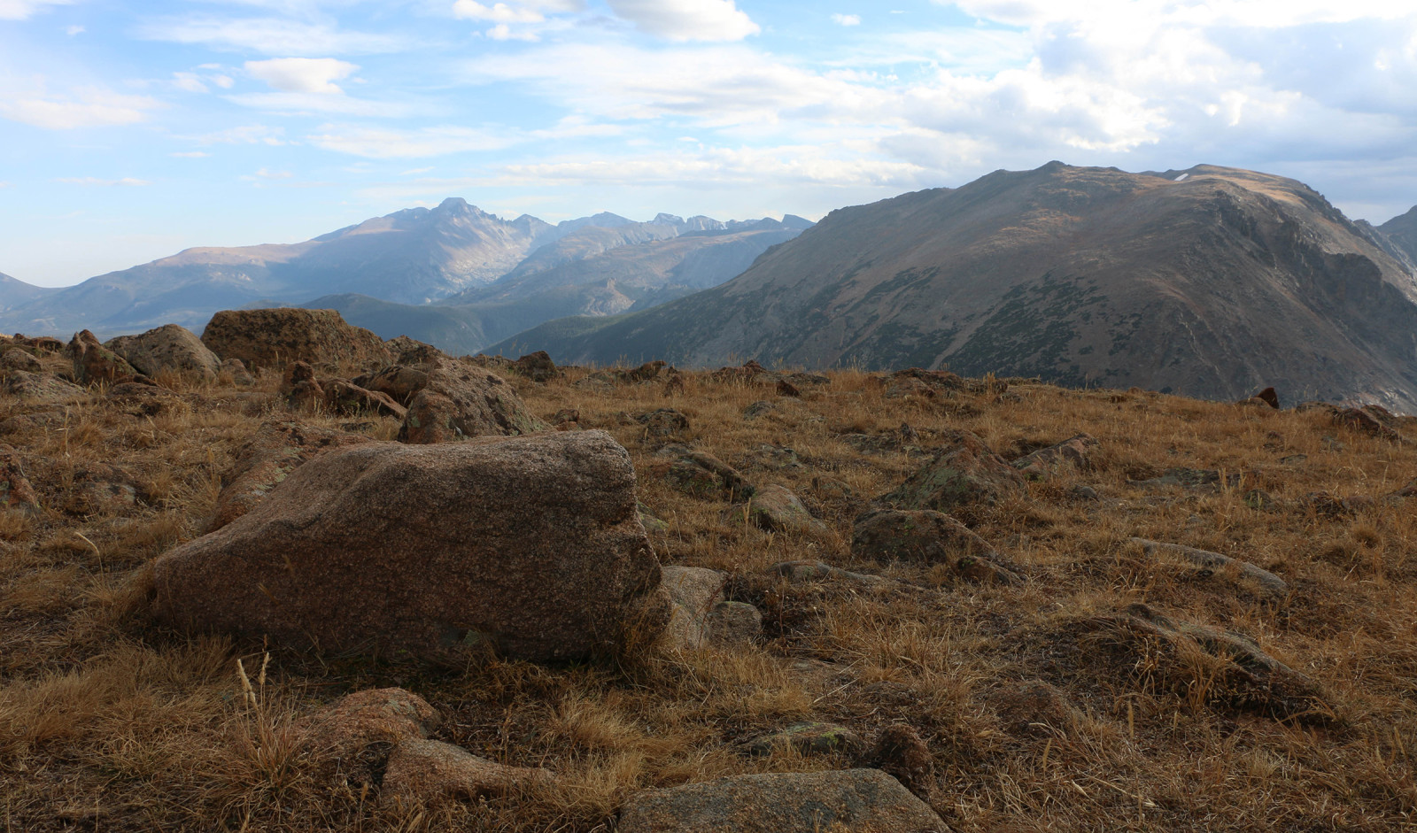 Alpine tundra with a view of Long's Peak. (Ethan Freese)