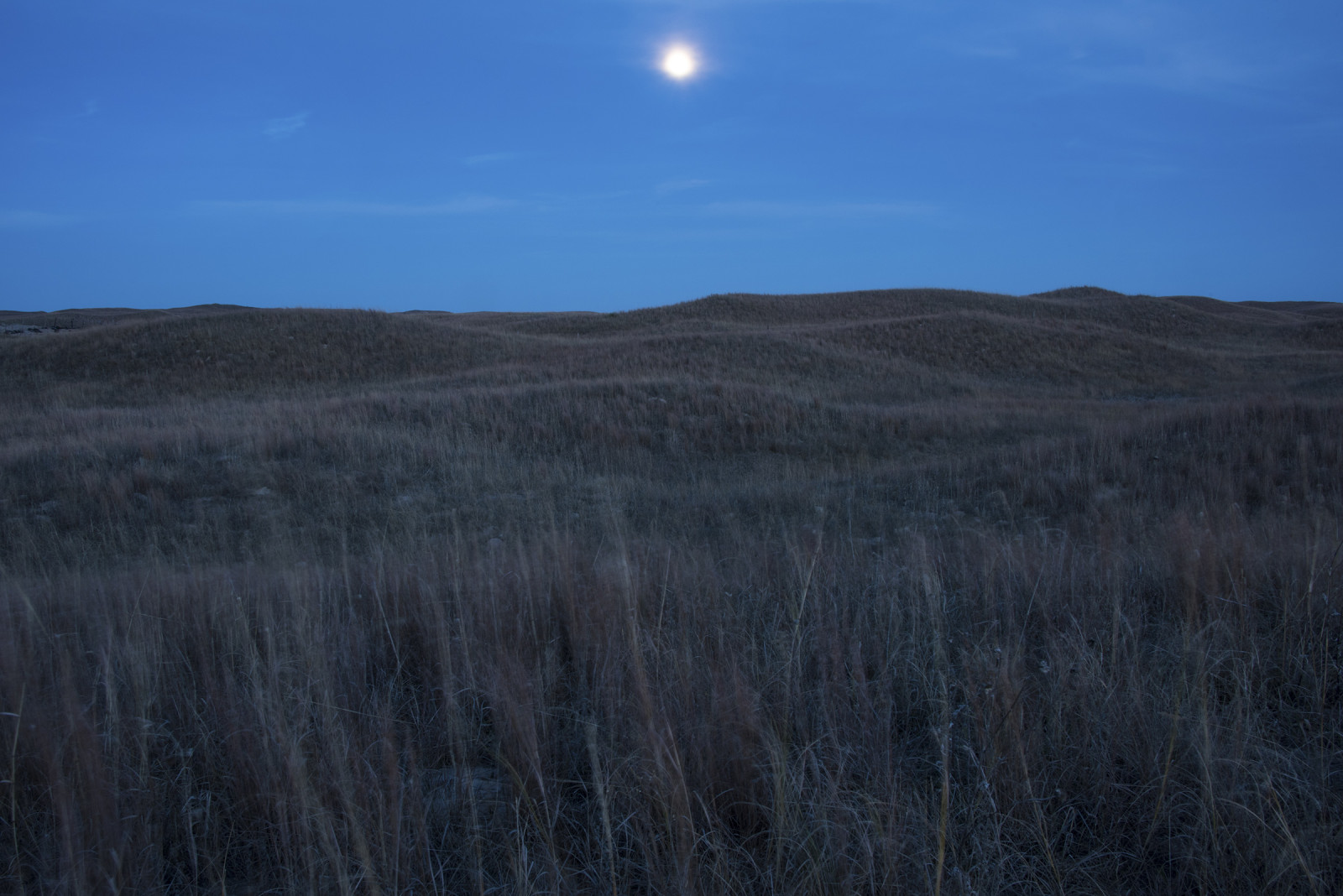 The Switzer Ranch in the Nebraska Sandhills, at dusk. (Mariah Lundgren)