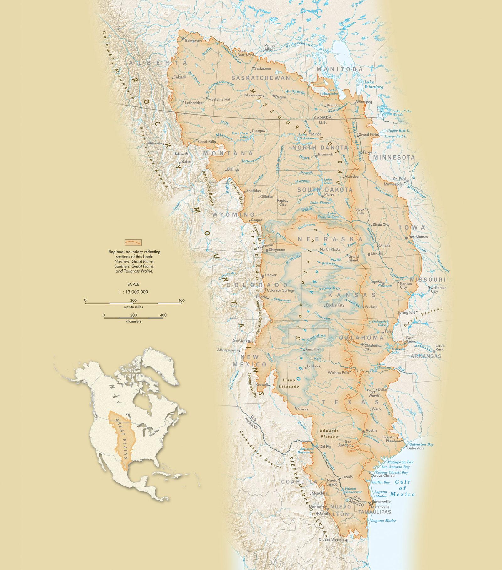GREAT PLAINS MAP